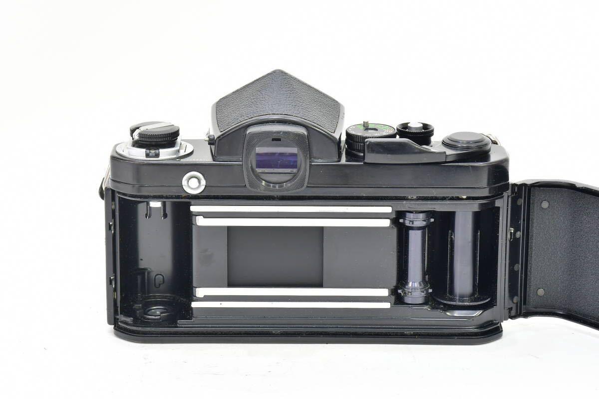 2AM393 ◆ Nikon ニコン F2 アイレベル ブラック 794万台 ブラック DE-1 MF一眼レフ フイルムカメラ_画像7