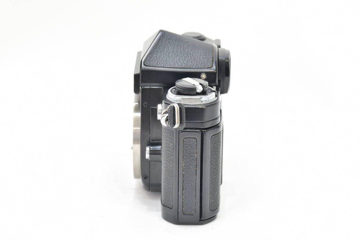 2AM393 ◆ Nikon ニコン F2 アイレベル ブラック 794万台 ブラック DE-1 MF一眼レフ フイルムカメラ_画像5