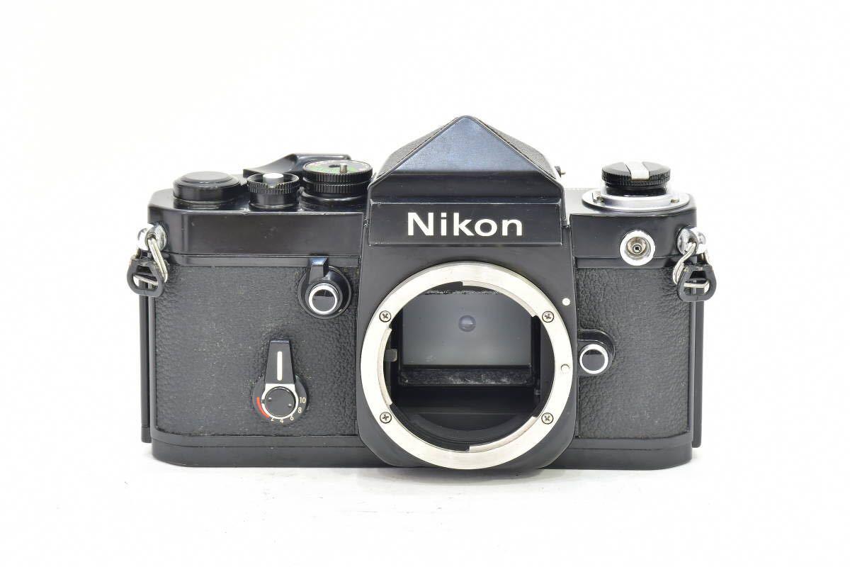 2AM393 ◆ Nikon ニコン F2 アイレベル ブラック 794万台 ブラック DE-1 MF一眼レフ フイルムカメラ