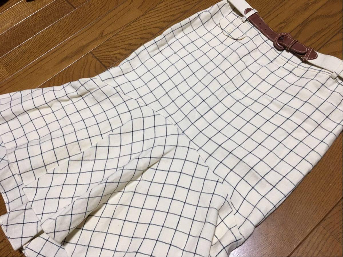 ラルフローレン☆麻スカート☆9号サイズ☆美品_画像3
