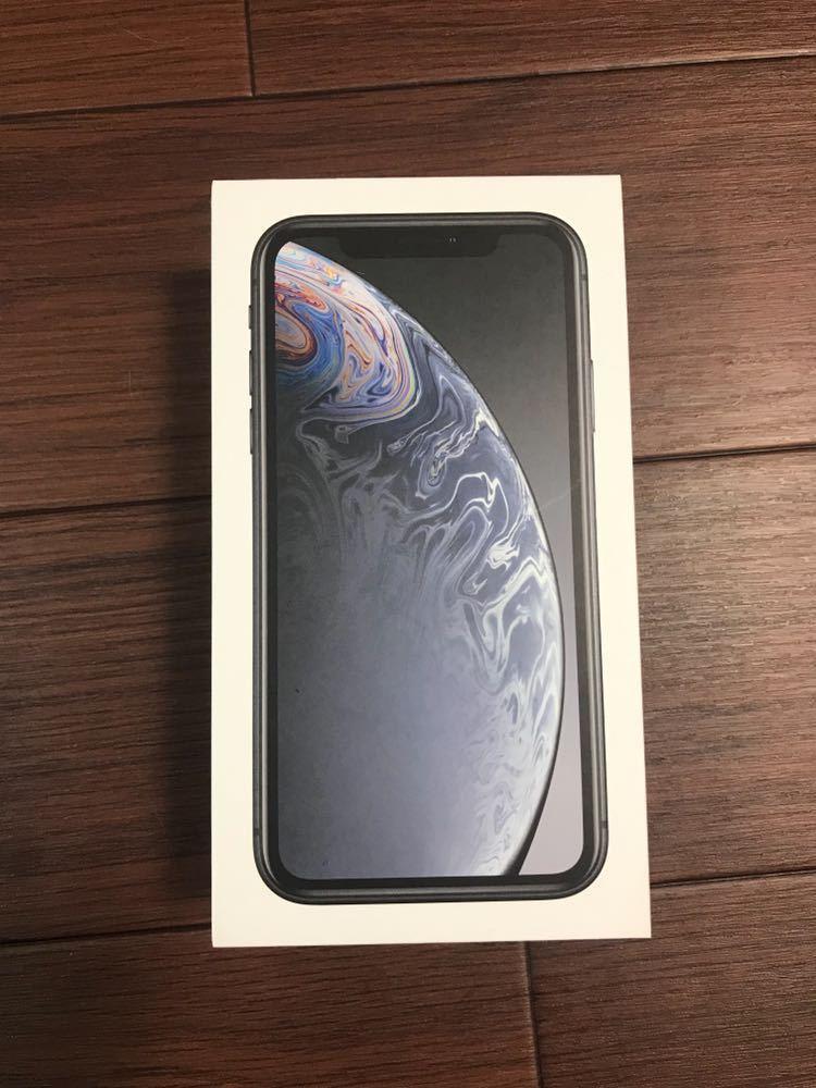 【ほぼ新品】iPhone XR 128GB ブラック 黒 SIMロック解除済 付属品有 Apple _画像2