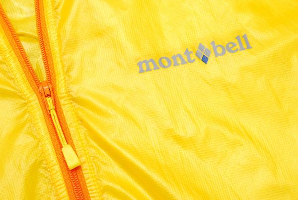 美品 モンベル mont-bell 「EXライト ウインド パーカ」 撥水加工 ナイロンパーカー Men's メンズ 1103285/黄 M ポケッタブル_画像5