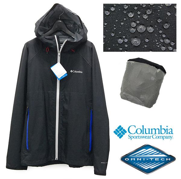 """新品 コロンビア Columbia 「LIGHT CREST JACKET/ライトクレストジャケット」 PM3434 """"OMNI-TECH""""搭載 ナイロンパーカー/ポケッタブル"""