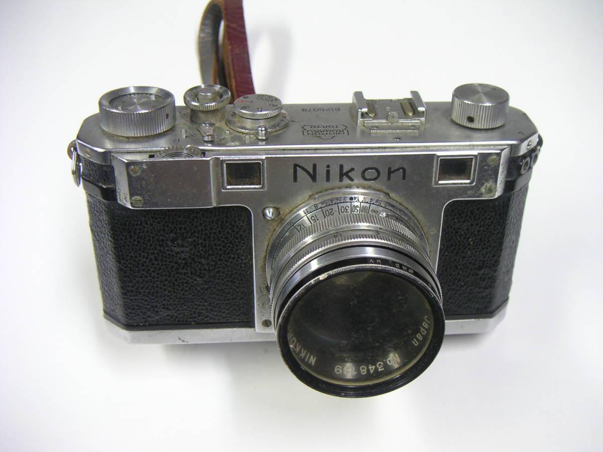 昭和レトロ ニコンI ニコンF Nikonカメラ ジャンク NIPPON KOGAKU JAPAN
