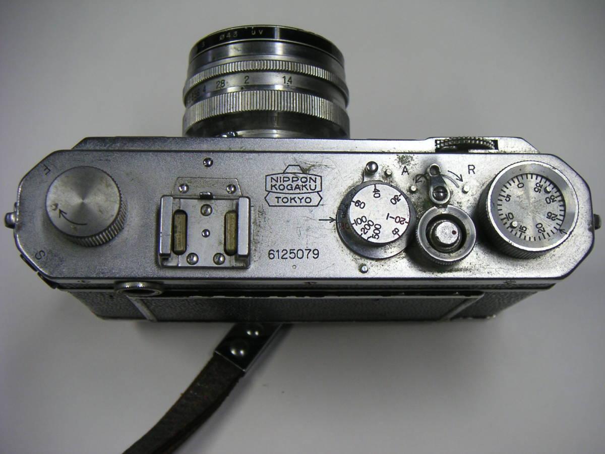 昭和レトロ ニコンI ニコンF Nikonカメラ ジャンク NIPPON KOGAKU JAPAN_画像2