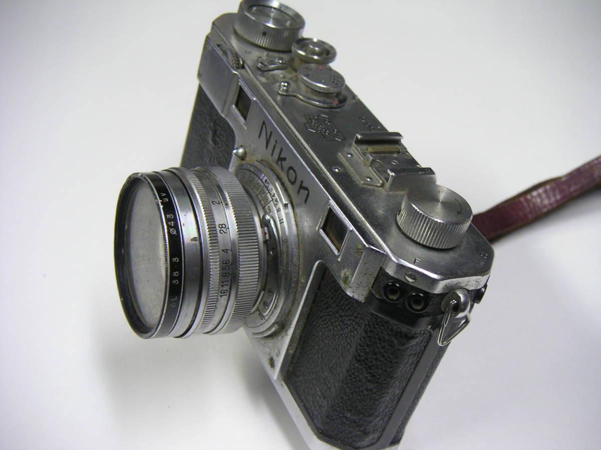 昭和レトロ ニコンI ニコンF Nikonカメラ ジャンク NIPPON KOGAKU JAPAN_画像5