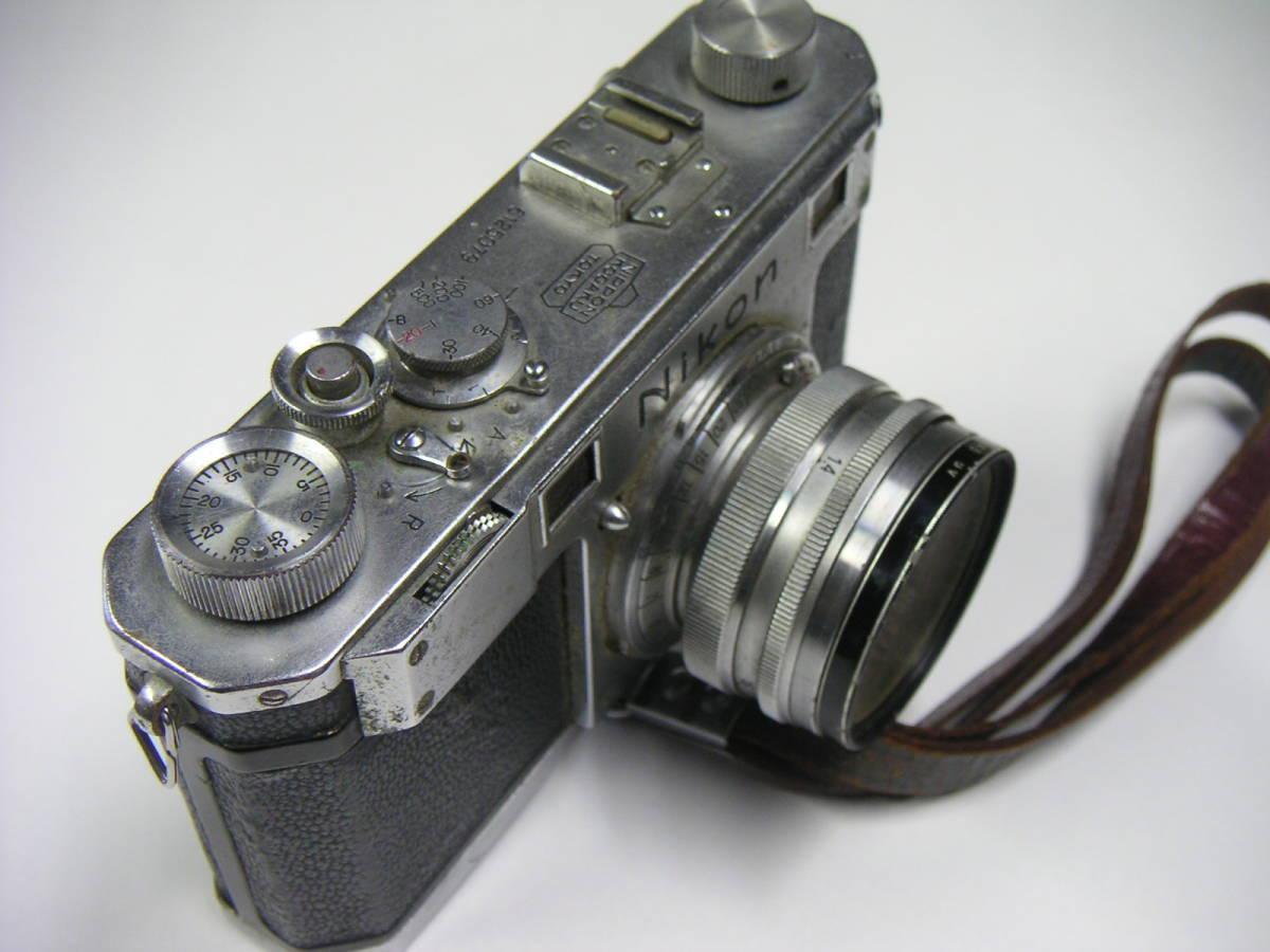 昭和レトロ ニコンI ニコンF Nikonカメラ ジャンク NIPPON KOGAKU JAPAN_画像6