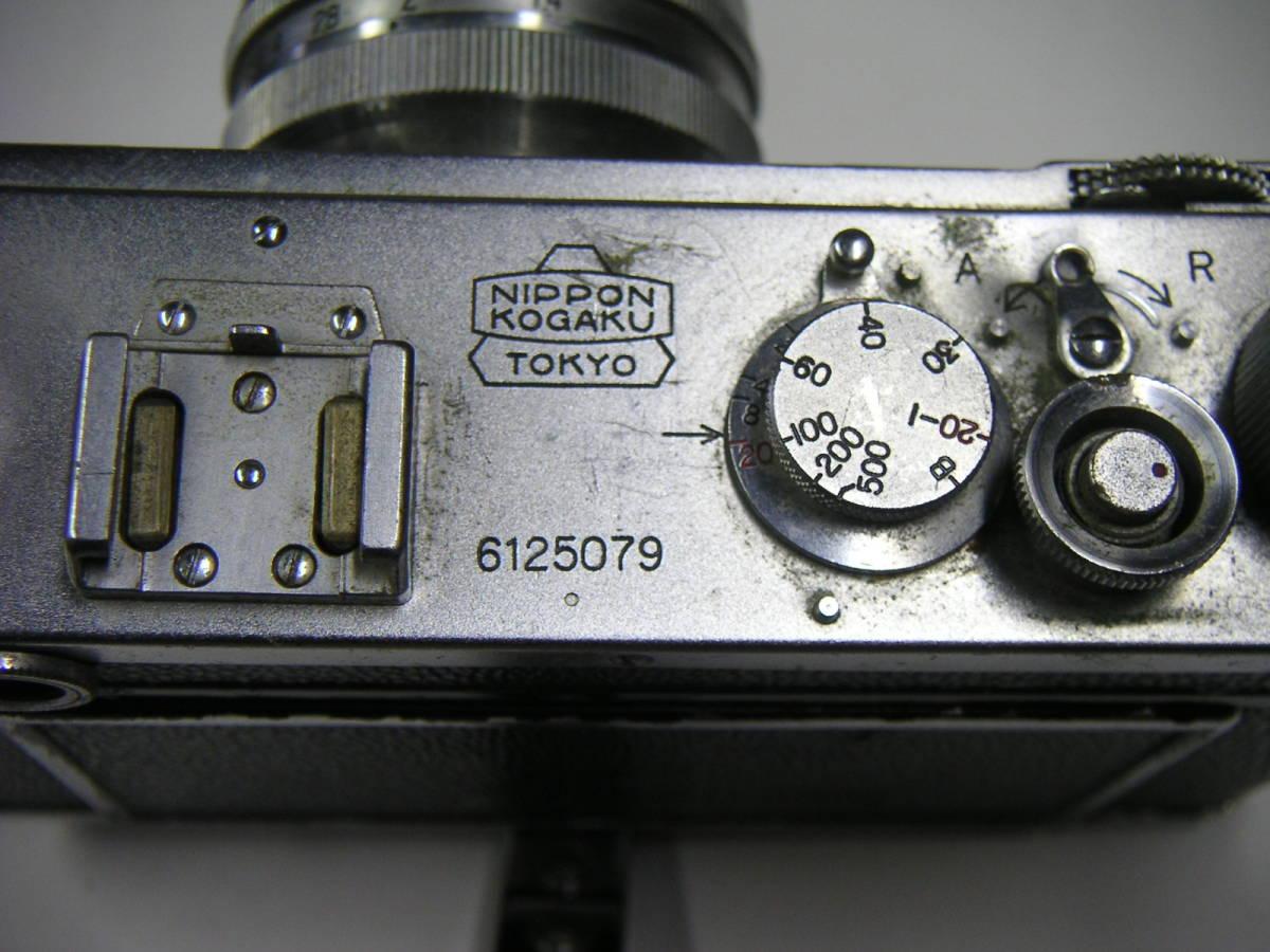 昭和レトロ ニコンI ニコンF Nikonカメラ ジャンク NIPPON KOGAKU JAPAN_画像7