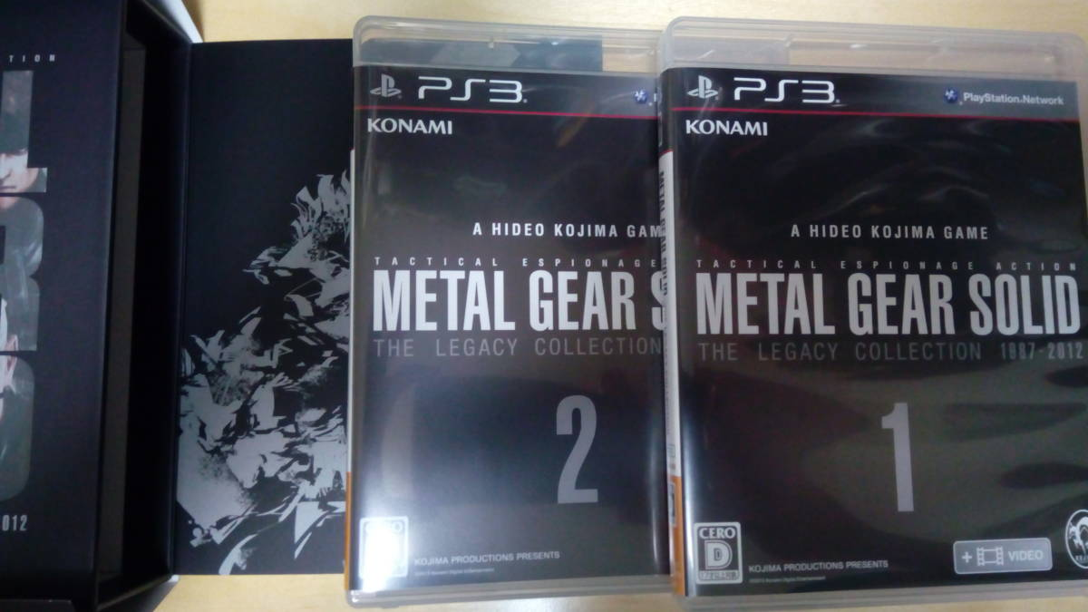 PS3 メタルギア25周年記念メタルギアソリッド レガシーコレクション METAL GEAR SOLID THE LEGACY COLLECTION_画像3