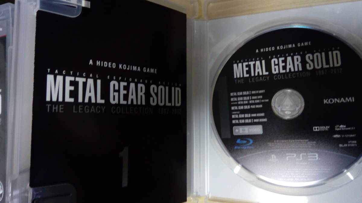 PS3 メタルギア25周年記念メタルギアソリッド レガシーコレクション METAL GEAR SOLID THE LEGACY COLLECTION_画像4
