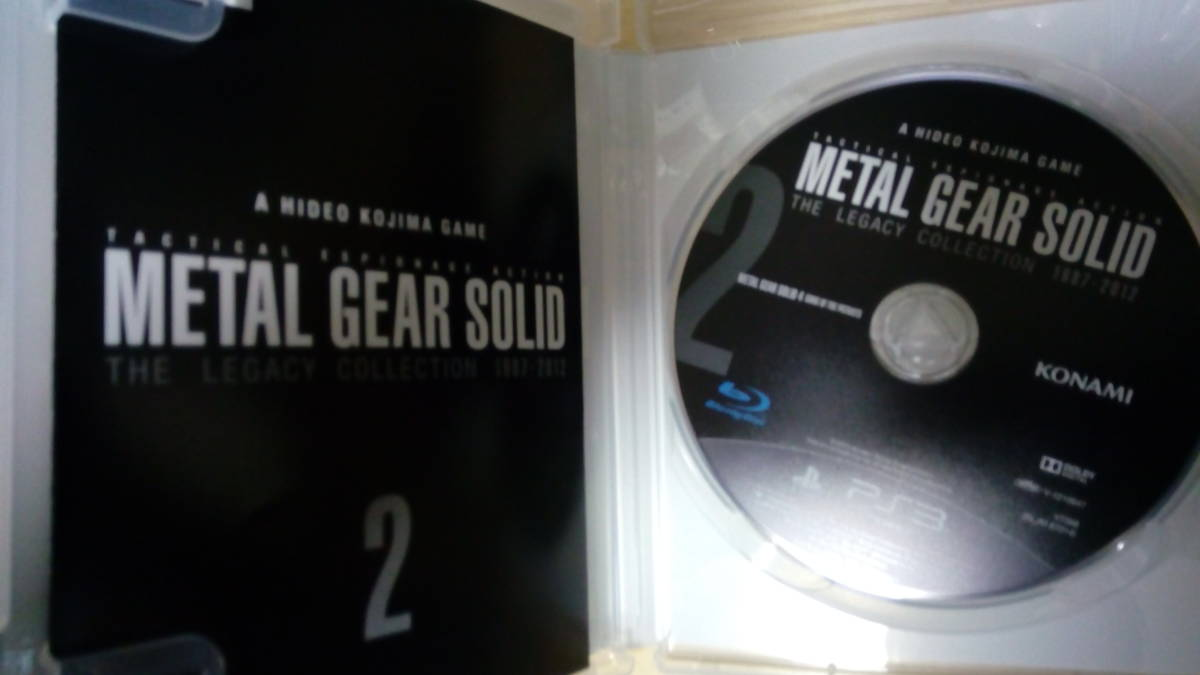 PS3 メタルギア25周年記念メタルギアソリッド レガシーコレクション METAL GEAR SOLID THE LEGACY COLLECTION_画像5