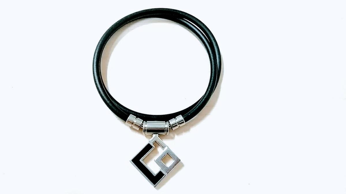 【美品】Colantotte コラントッテ TAO AURA 肩コリ解消 磁気ネックレス L 47cm