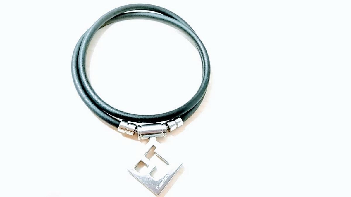 【美品】Colantotte コラントッテ TAO AURA 肩コリ解消 磁気ネックレス L 47cm_画像2