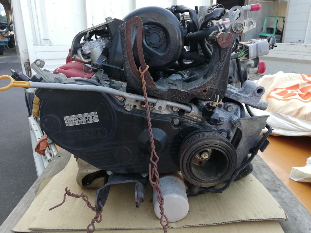 サンバー TT1 TV1 赤帽エンジン EN07_画像2