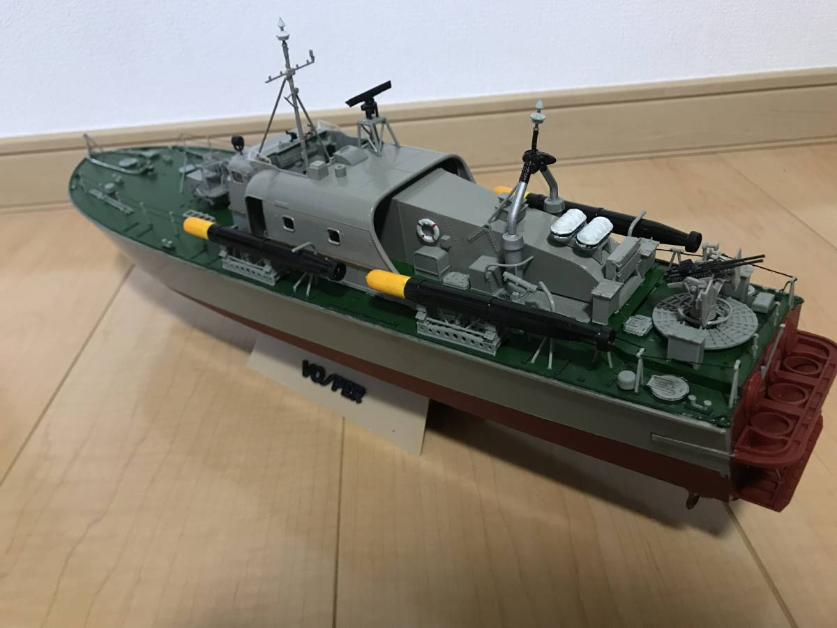 タミヤ 1/72 魚雷艇 ボスパー ラジコン化 ジャンク品_画像5