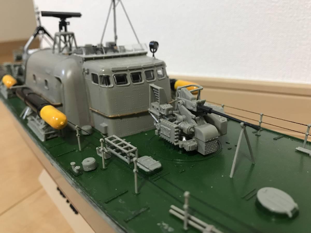 タミヤ 1/72 魚雷艇 ボスパー ラジコン化 ジャンク品_画像3