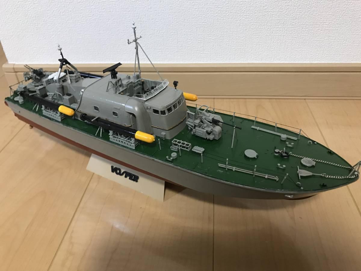 タミヤ 1/72 魚雷艇 ボスパー ラジコン化 ジャンク品_画像2