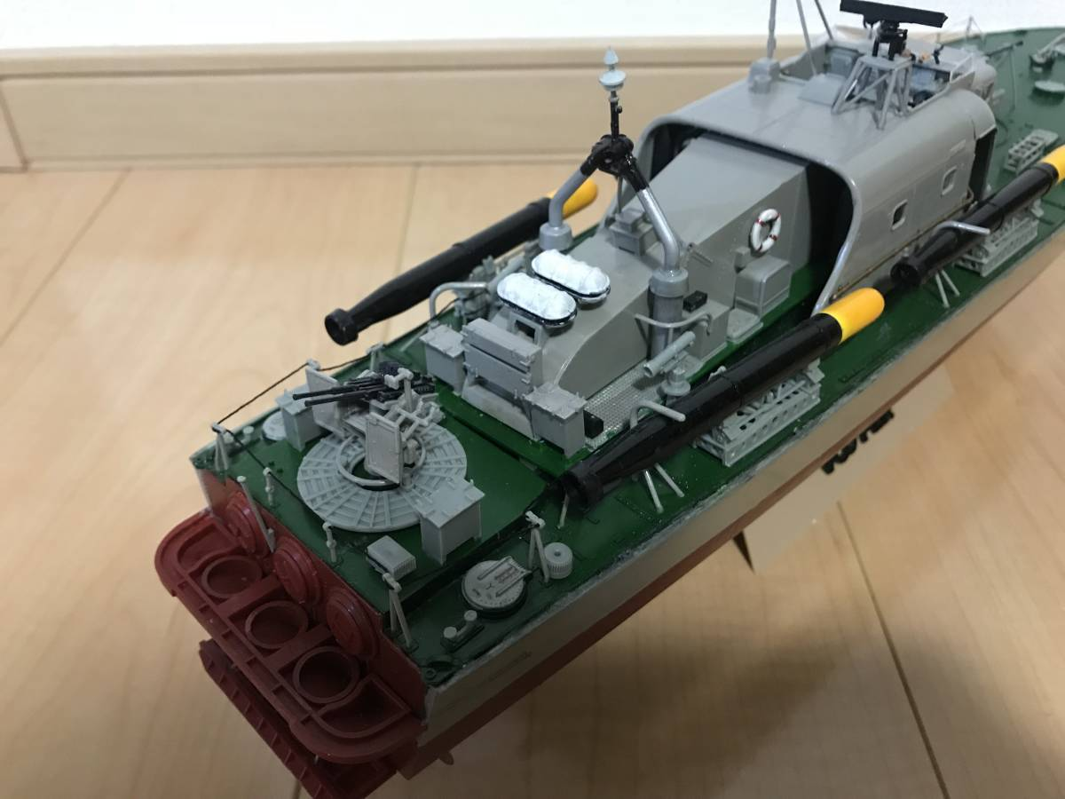 タミヤ 1/72 魚雷艇 ボスパー ラジコン化 ジャンク品_画像4