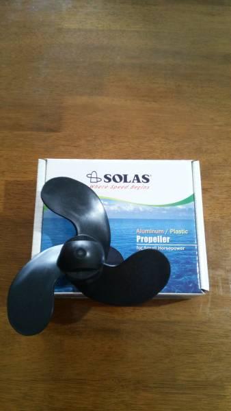 ☆☆ SOLAS(ソラス)製HONDA2馬力船外機用ハイピッチプロペラ 送料無料 ☆☆