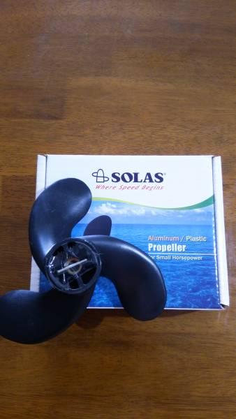 ☆☆ SOLAS(ソラス)製HONDA2馬力船外機用ハイピッチプロペラ 送料無料 ☆☆_画像2