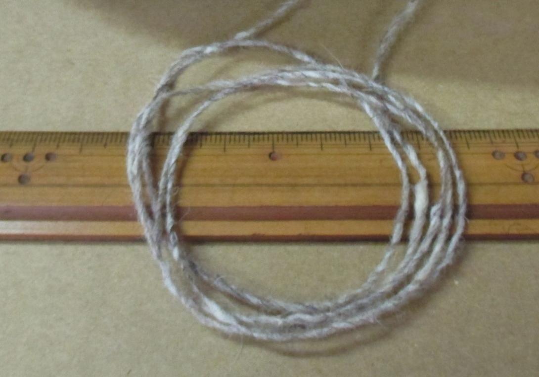 MT065 糸 ◆ 1/4.5 ウールtopネップ 3色4本 ◆ ウール90% ナイロン10%_画像4