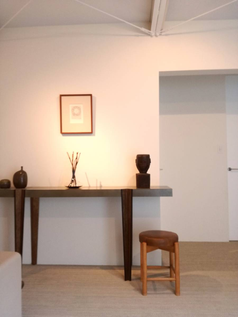 1950 1960 mid century leather stool 高級 展示品 ミッドセンチュリー ヴィンテージ