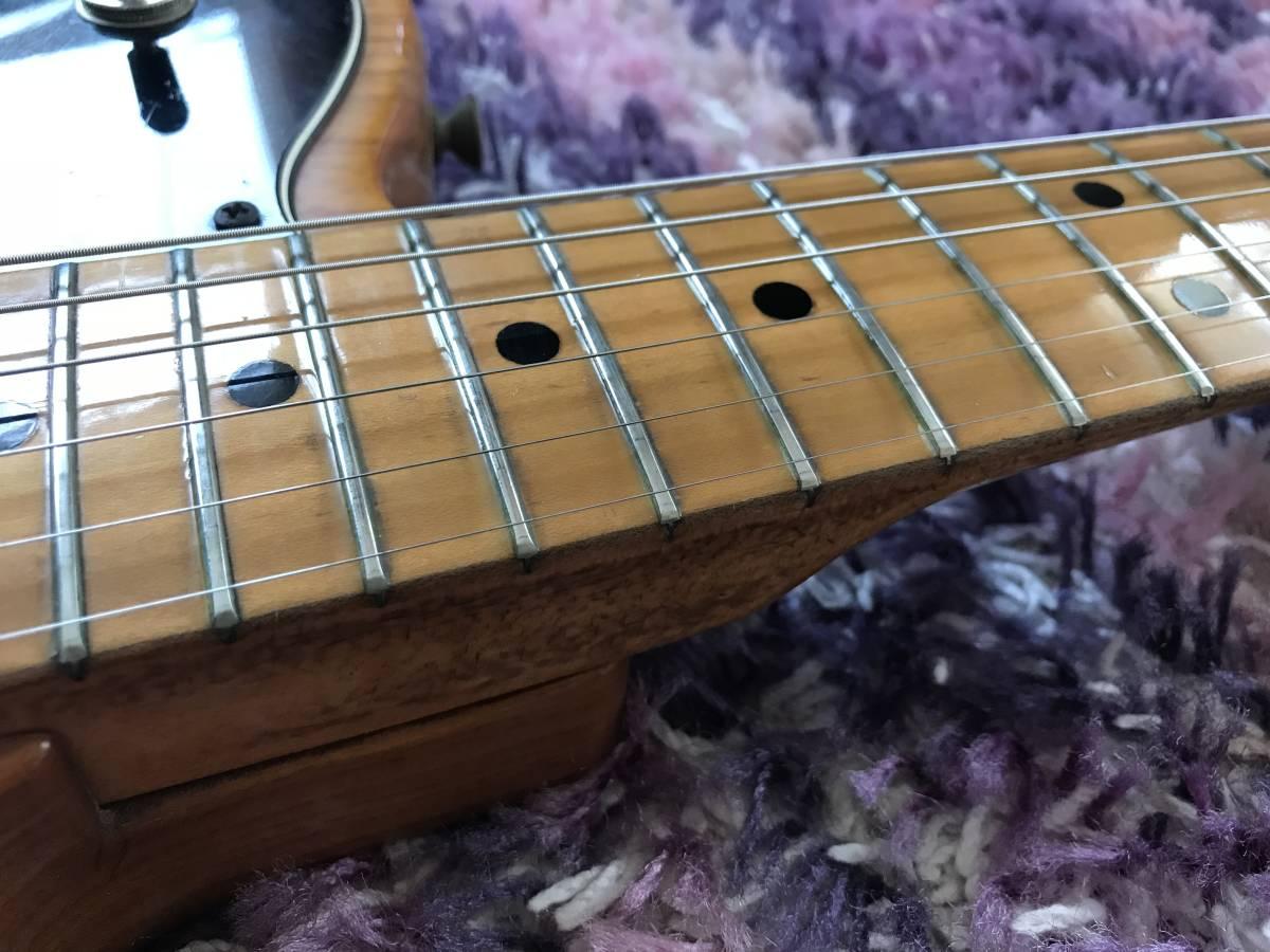 1円~最落なし! Fender Telecaster Custom Natural 1973年製 HC付 調整済 希少ビンテージ!極上サウンド! テレキャスターカスタム_画像4