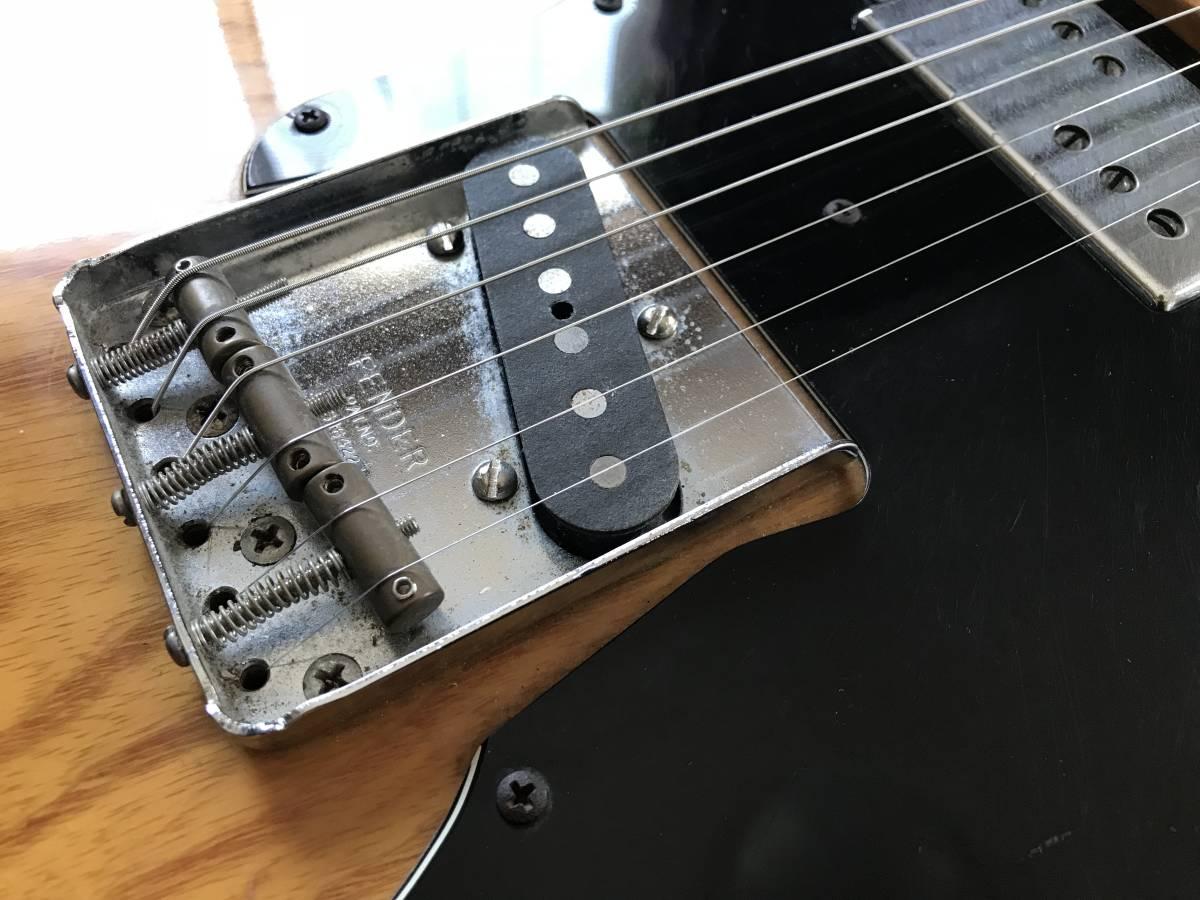 1円~最落なし! Fender Telecaster Custom Natural 1973年製 HC付 調整済 希少ビンテージ!極上サウンド! テレキャスターカスタム_画像3