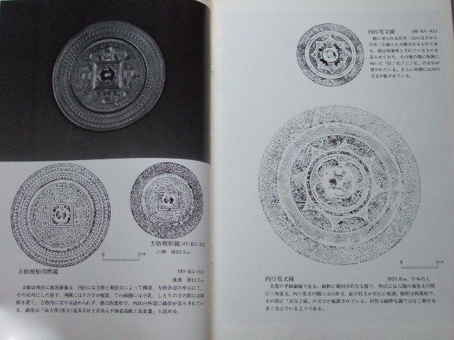 中国古鏡 隋唐鏡 神獣鏡 漢式鏡 柄鏡「鏡鑑」収蔵品図録Ⅱ_画像2