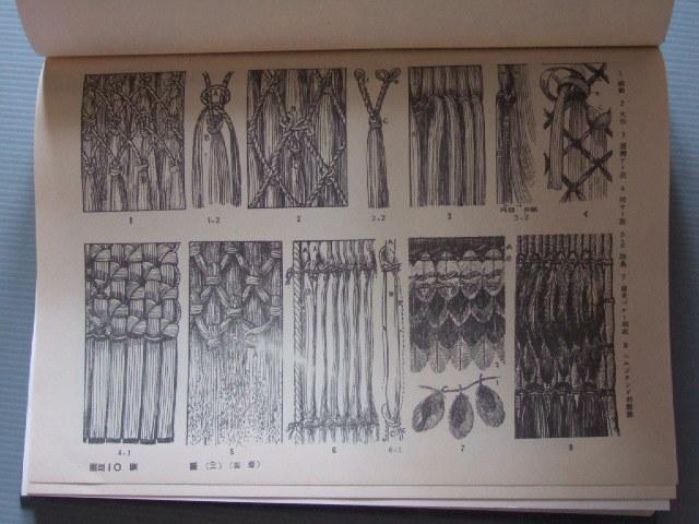 古民具 古民芸 古籠 藁細工 昭和17年発行 「日本原始繊維工芸史 / 土俗篇」_画像10