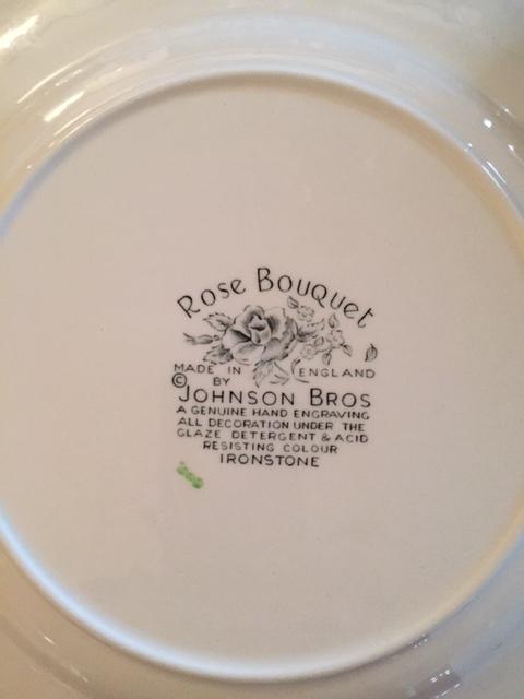 《送料無料》美品ジョンソンブラザーズJohnson Brothers Rose Bouquet 42点セット_画像7