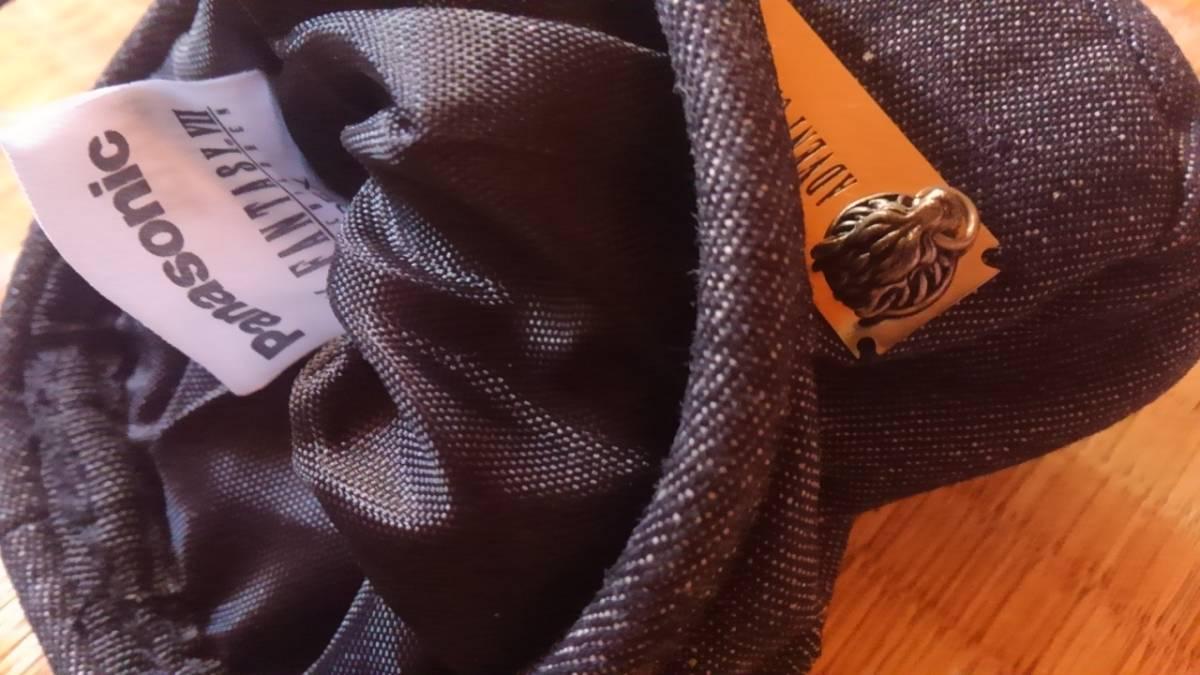 ファイナルファンタジー7クラウディウルフ小物入れクラウド★ポーチ特典レア非売品ポシェットPanasonicコラボFFパナソニック★アドベント_画像3