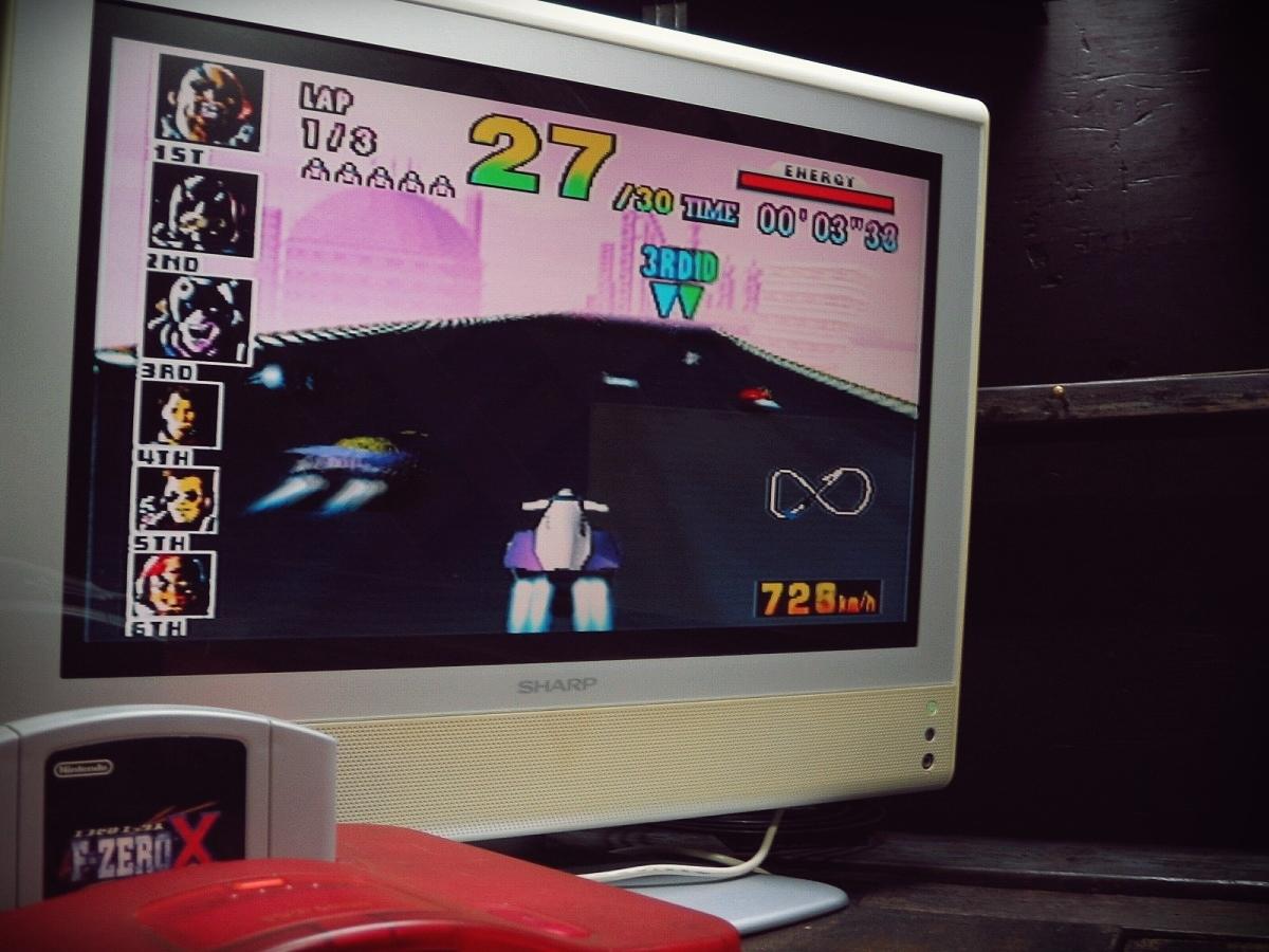Nintendo 64 N64 ニンテンドー64ソフト 動作確認済 1998年 NUS-CFZJ F-ZEROX エフゼロエックス_画像5
