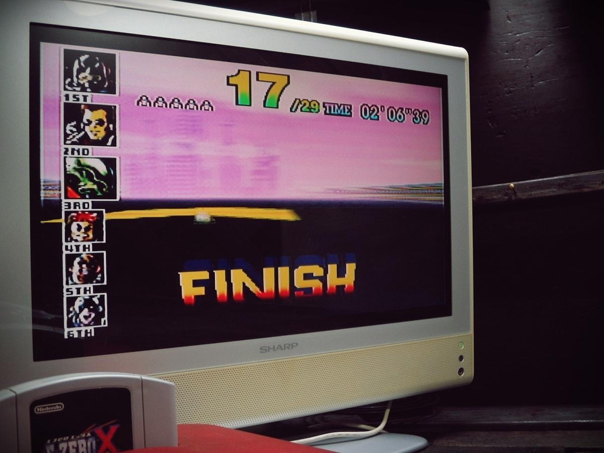 Nintendo 64 N64 ニンテンドー64ソフト 動作確認済 1998年 NUS-CFZJ F-ZEROX エフゼロエックス_画像6
