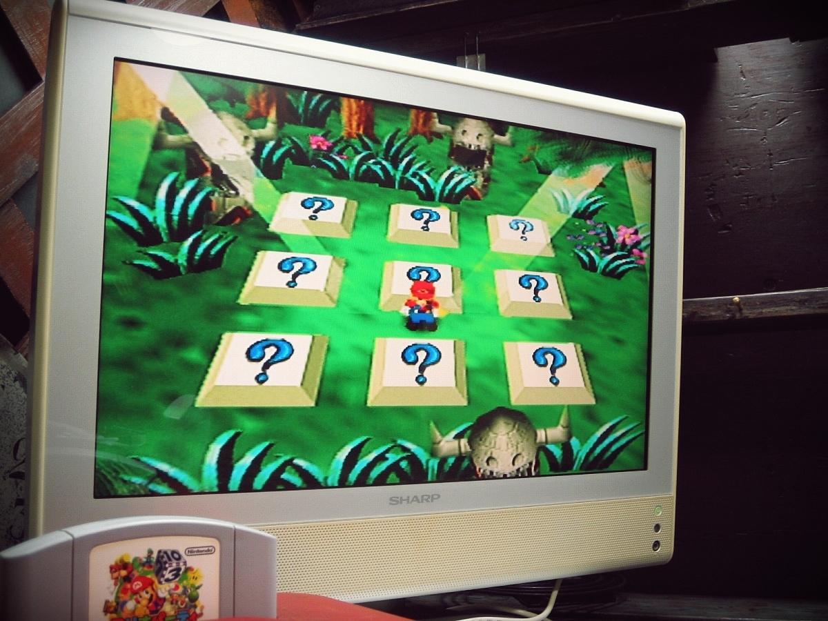 Nintendo 64 N64 ニンテンドー64ソフト 動作確認済 1998年 NUS-CLBJ マリオパーティ MARIO PARTY_画像7