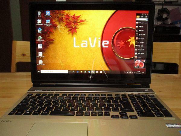 【i7+SSD 高性能ノートPC】Core i7-4700MQ / 新品SSD 512GB+HDD 1TB / メモリ8GB / Windows10 / Blu-ray / NEC LaVie LL750N / 1 LL750NSG_画像2