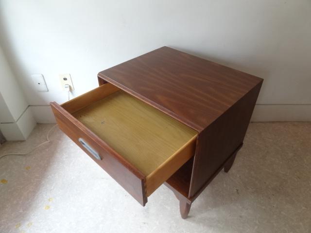 US ヴィンテージ ナイトテーブル キャビネット singer furniture/drexel ドレクセル ACME パシフィックファニチャーサービス_画像3