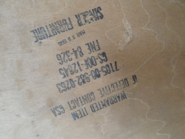 US ヴィンテージ ナイトテーブル キャビネット singer furniture/drexel ドレクセル ACME パシフィックファニチャーサービス_画像10
