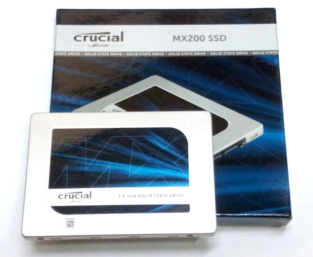 Crucial MX200 SSD 250GB ②
