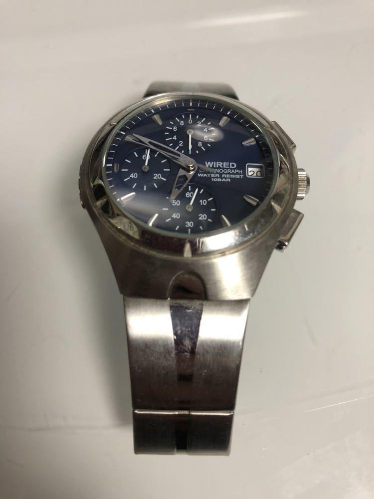 wired ワイアード 腕時計 ALBA100093 v657-0a30 動作未確認 レア物
