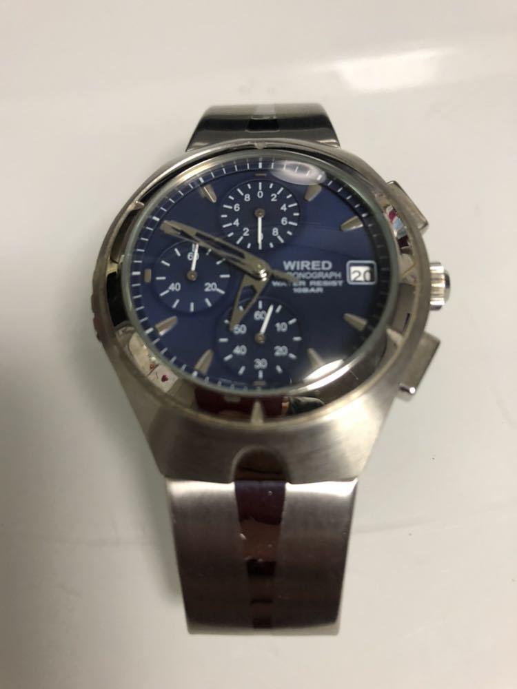 wired ワイアード 腕時計 ALBA100093 v657-0a30 動作未確認 レア物_画像2