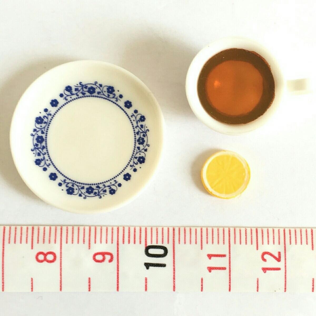 レモンティー 単品 街角のレトロ喫茶店 ミニチュア ぷちサンプル リーメント_画像3