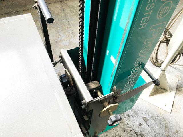 3759 中古 ヘッドライトテスター 前照灯試験機 安全自動車 HLI-210 画像処理 手動式 ハイビーム すれ違い対応 車検 自動車整備機械工具_画像9