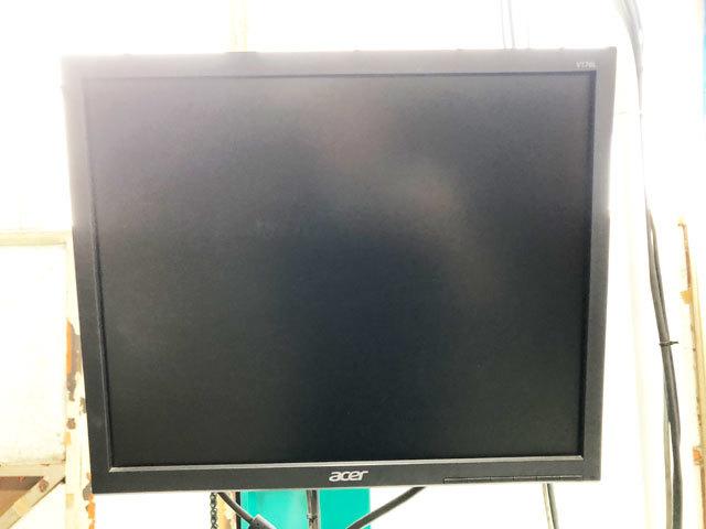 3759 中古 ヘッドライトテスター 前照灯試験機 安全自動車 HLI-210 画像処理 手動式 ハイビーム すれ違い対応 車検 自動車整備機械工具_画像10