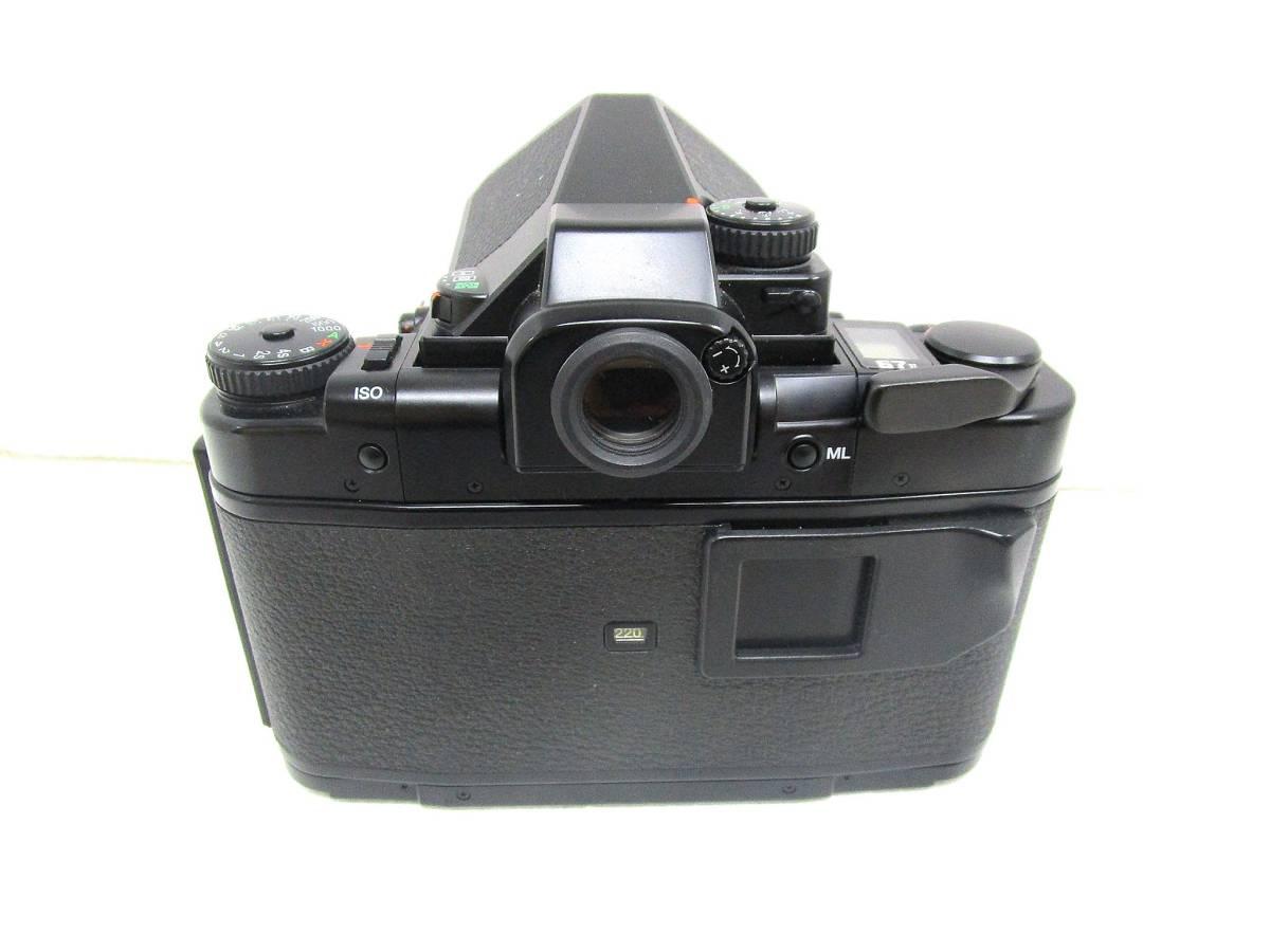 【美品】ペンタックス PENTAX 中判カメラ 67 Ⅱ / レンズ SMC PENTAX 67 MACRO 1:4 100mm / 木製グリップ 他付属品有 _画像5