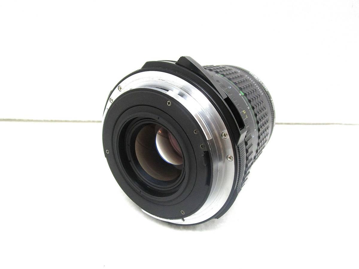 【美品】ペンタックス PENTAX 中判カメラ 67 Ⅱ / レンズ SMC PENTAX 67 MACRO 1:4 100mm / 木製グリップ 他付属品有 _画像10