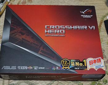 ASUSTeK AMD X370搭載 マザーボード CROSSHAIR VI HERO
