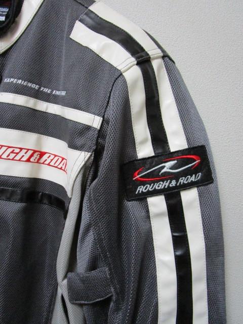 ROUGH&ROAD メッシュライディングジャケット・LL(ラフ&ロードプロテクターライダースジャケット)_画像3