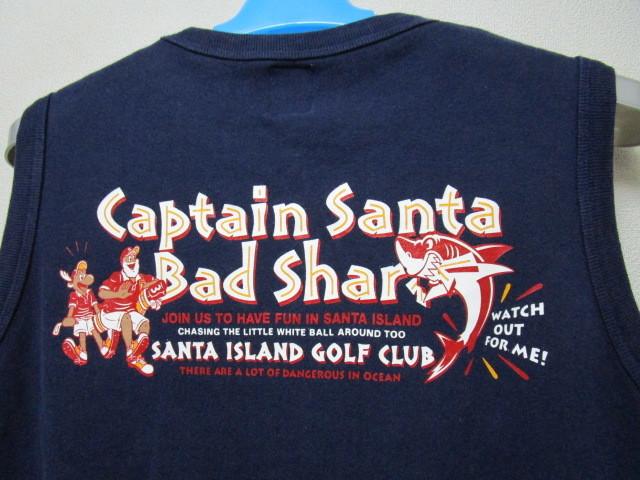 キャプテンサンタ スウェット地ベスト・L(Captain Santa Golf Clubトレーナー地ベストジョイマークデザイン)_画像7