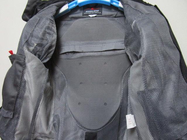 ROUGH&ROAD メッシュライディングジャケット・LL(ラフ&ロードプロテクターライダースジャケット)_画像5